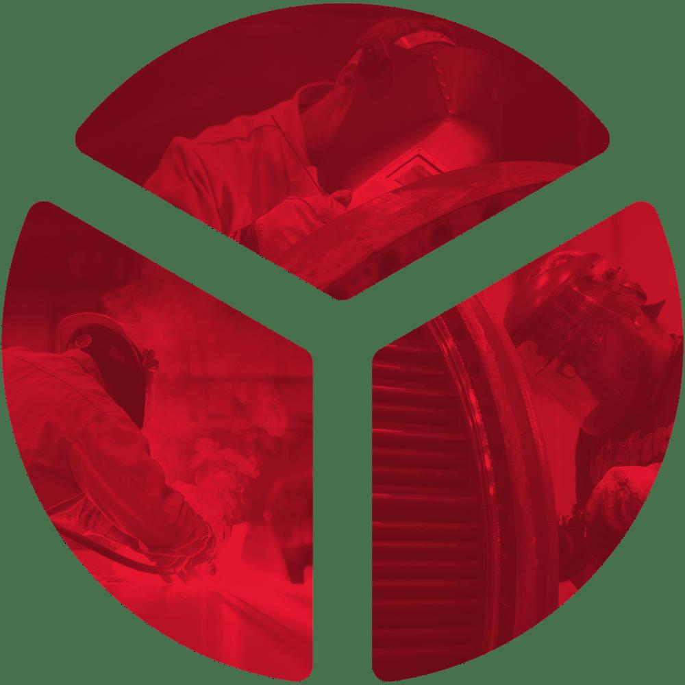 Triad Emblem with photos
